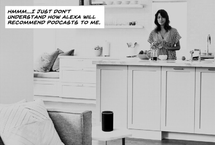 If podcasts and radio move to smart speakers, who will be directing us what to listen to?